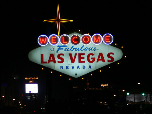 "Neon Sign saying ""Welcome to Fabulous Las Vegas Nevada"""