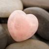 Rose quartz promotes healthy love