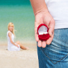 A surprise trip could mean he's about to get down on one knee