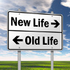 Leaving your old life behind and starting new can bring mixed emotions.
