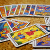 The cards of a Tarot deck guide you