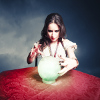 Not all psychics use a crystal ball in their readings.