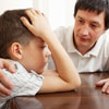 Comforting your child can help with understanding.